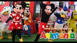 getlinkyoutube.com-Show Infantil Mickey Mouse - Animania Show