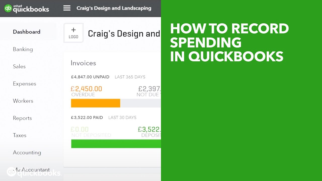 How to record spending