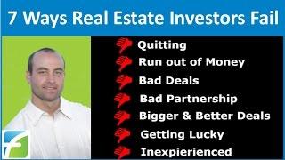 getlinkyoutube.com-7 Ways Real Estate Investors Fail