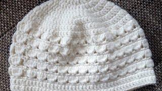 getlinkyoutube.com-Tejer un gorro para chicas - Gorro en crochet de BerlinCrochet