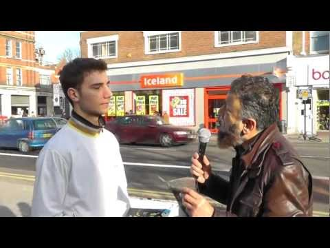 Orthodox Christian Becomes Muslim, Street Dawah- 'LIVE'