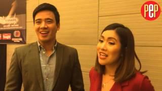 Erik Santos, Angeline Quinto remain unaffected by gender issue