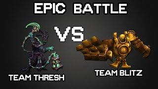 getlinkyoutube.com-ONE FOR ALL! Team Thresh vs Team Blitz (Funny Moments)