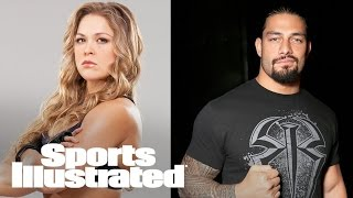 getlinkyoutube.com-Ronda Rousey interviews WWE's Roman Reigns about WrestleMania | SI NOW | Sports Illustrated