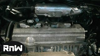 How to Replace a Valve Cover Gasket on a Toyota Camry 2.2L Engine Part 1