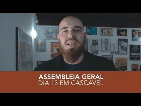 Chamada Assembleia Geral em Cascavel