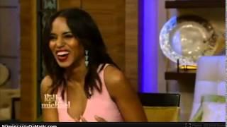 getlinkyoutube.com-Kerry Washington Live with Kelly and Michael 23/09/2014