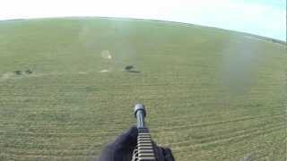 getlinkyoutube.com-Helicopter Hog Hunt Slow Mo Kill Shots - It's a Wonderful World