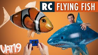 getlinkyoutube.com-Air Swimmers Remote Control Flying Fish