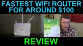 getlinkyoutube.com-Fastest Most Powerful WiFi Router - TP Link Archer C9 AC 1900 Wireless Dual Band Gigabit Review