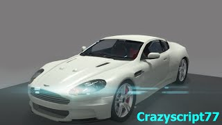 getlinkyoutube.com-Blender 3D car speed model (Aston Martin DBS)