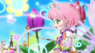 getlinkyoutube.com-Aikatsu! Episode 124 「Blooming♡Blooming」Starlight Queen Cup