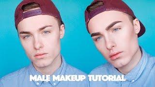 getlinkyoutube.com-Male Makeup Tutorial - Step by Step