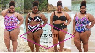 "getlinkyoutube.com-""Plus Size"" Swimsuit Lookbook | Plus Size Bikini"