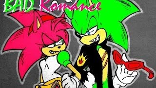 "getlinkyoutube.com-Scrousy:Rosy The Rascal X Scrouge The Hedgehog-""Bad Romance"" (Sub Español)"