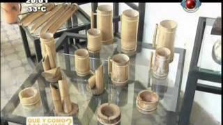 getlinkyoutube.com-QUE Y COMO SE HACE? - Artesanía en TACUARA - Areguá (Programa N° 74)