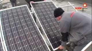 getlinkyoutube.com-Montaj Panouri Fotovoltaice partea 2 din 2 Baia Mare 2012