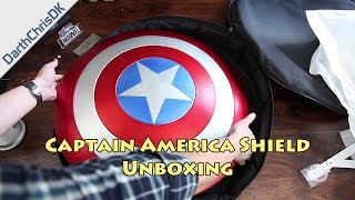 Unboxing: Captain America Shield - Official Prop Replica (eFX Collectibles)