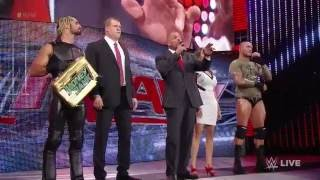 getlinkyoutube.com-John Cena and Dean Ambrose get some Night of Champions payback: Raw, Sept. 22, 2014