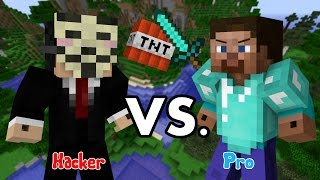 getlinkyoutube.com-Hacker VS. Pro - Minecraft PART 1