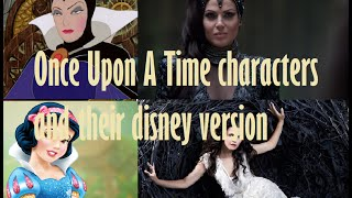 getlinkyoutube.com-Once Upon A Time characters and their Disney versions
