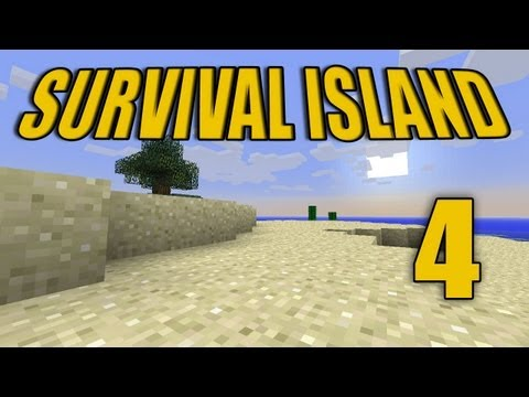 Minecraft - &quot;Survival Island&quot; Part 4: What the hell?