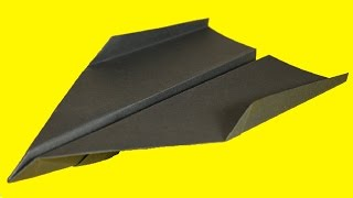 getlinkyoutube.com-How to make a Paper Airplane - BEST Paper Planes in the World: Origami Avion en Papier | Beth