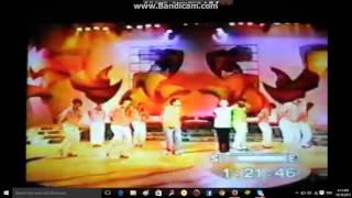 abztract dancers w/Marvin Agustin & Raven Villanueva