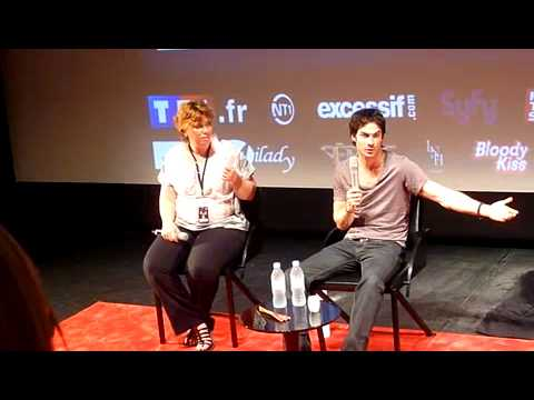Ian Somerhalder Convention WTMF2 @Paris Q&amp;A 27/05/2012 Part 1