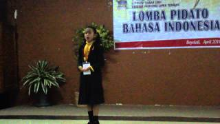 getlinkyoutube.com-Juara 1 Lomba Pidato Tingkat Propinsi Jawa Tengah
