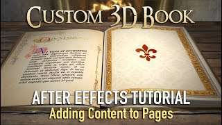getlinkyoutube.com-3D Book - After Effects Tutorial (Filling Pages)
