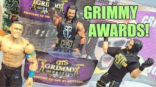 getlinkyoutube.com-GTS WRESTLING: Grimmy Awards WWE Mattel Action Figure Animation Event!