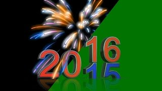 getlinkyoutube.com-Happy New Year 2016 - green screen