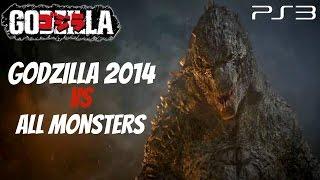 Godzilla The Game - Godzilla 2014 Vs. All Monsters [1440p HD]