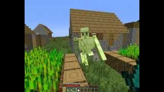 getlinkyoutube.com-21 - Minecraft golemwar mod bemutató
