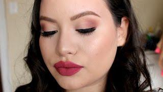 getlinkyoutube.com-Soft Holiday Makeup