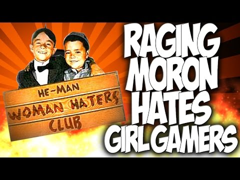 COD GHOSTS: RAGING MORON HATES GIRL GAMERS!! NOOBTUBERS SHAMED!!