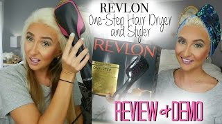 getlinkyoutube.com-REVLON  One-Step Hair Dryer and Styler