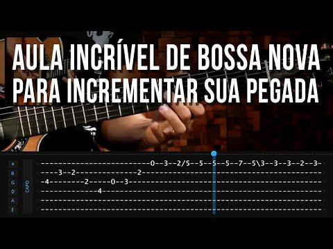Como Unir Harmonia E Melodia Na Bossa Nova (aula de vio�o)