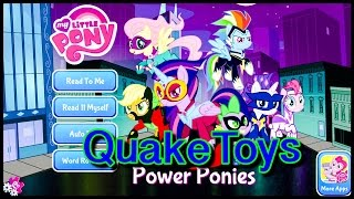 getlinkyoutube.com-Power Ponies My Little Pony Story App Zapp Mistress MareVelous Hum Drum Saddle Rager