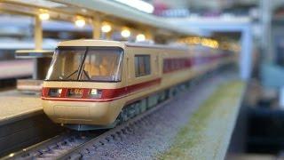 getlinkyoutube.com-鉄道模型(Nゲージ):アトリエminamo vol.27:381系 特急「しなの」(パノラマグリーン車付き)