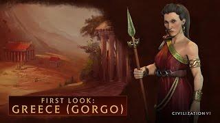 Sid Meier's Civilization VI - Greece (Gorgo)