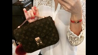 getlinkyoutube.com-Louis Vuitton Pochette METIS review
