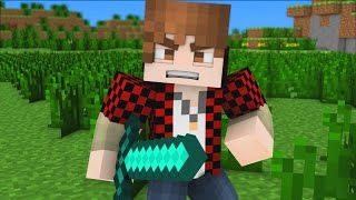 "getlinkyoutube.com-♪ ""Bajan Canadian Song"" - A Minecraft Parody Song (Music Video)"