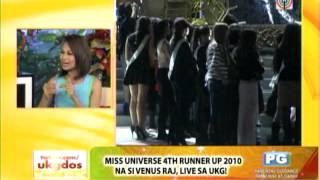 getlinkyoutube.com-Venus recalls what it's like hours before Miss Universe night