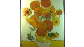 How to Paint Van Gogh's Sunflowers in 6 Minutes