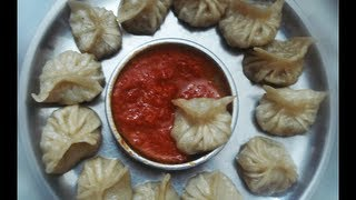 getlinkyoutube.com-Veg Momos Recipe | Northeast India and Nepali Style