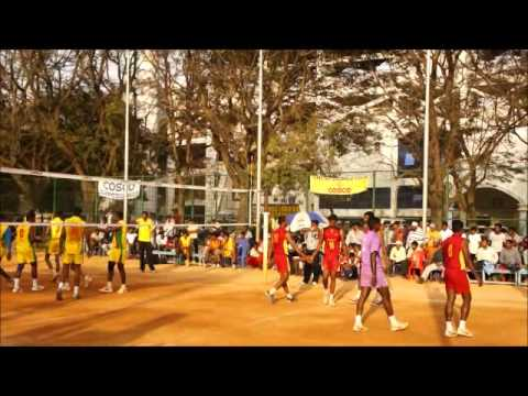 Volleyball Final : KSP VS SWR at Bangalore