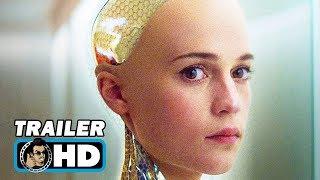 getlinkyoutube.com-Ex Machina Movie TRAILER (2015) Oscar Isaac Sci Fi HD