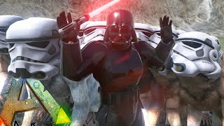 getlinkyoutube.com-Ark Survival Evolved - Star Wars POOP WARS, The Dark Dark Side (Ark Gameplay)